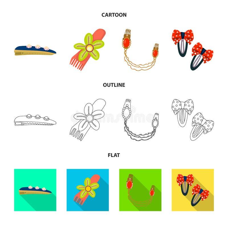 Ilustração do vetor do sinal da beleza e da forma Coleção da beleza e da ilustração conservada em estoque fêmea do vetor ilustração stock