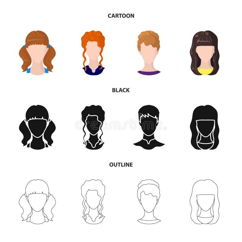 Ilustração do vetor do sinal do profissional e da foto Ajuste do profissional e do ícone do vetor do perfil para o estoque ilustração do vetor