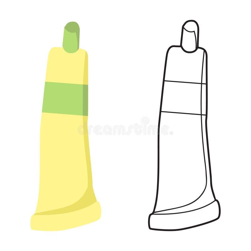 Ilustração do vetor do tubo ilustração stock