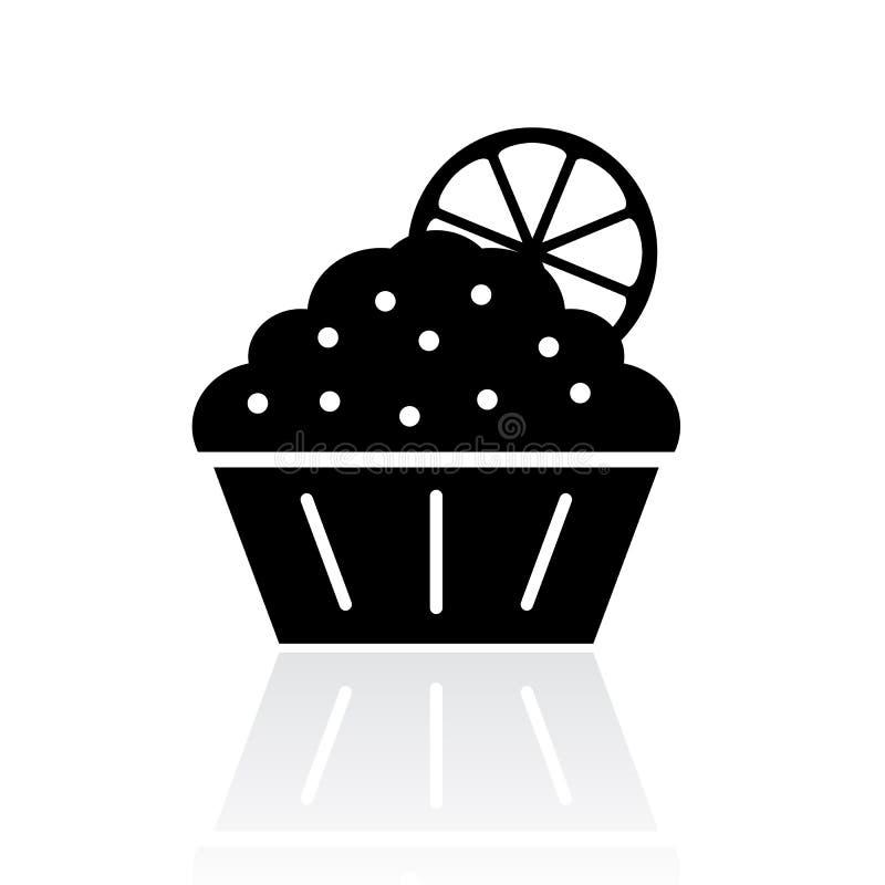Ilustração doce do bolo ilustração do vetor