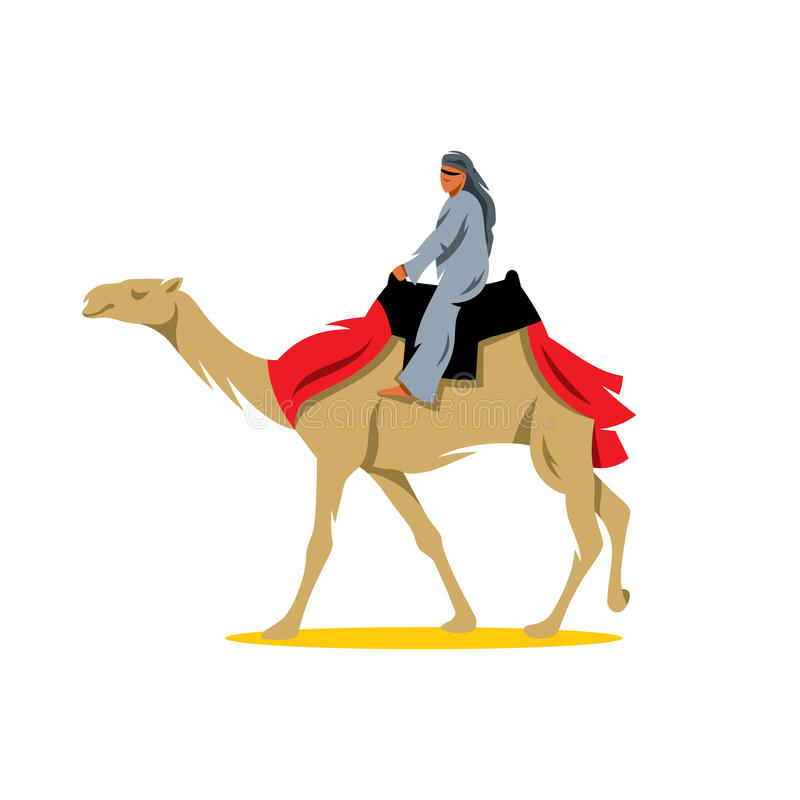 Ilustração dos desenhos animados de Cameleer do vetor ilustração royalty free