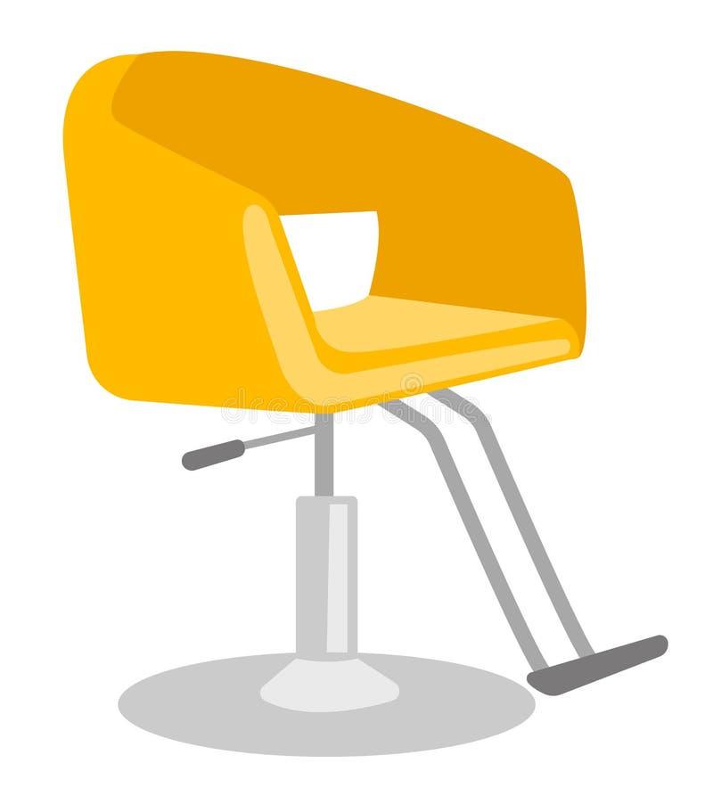 Ilustração dos desenhos animados do vetor da cadeira de barbeiro ilustração royalty free