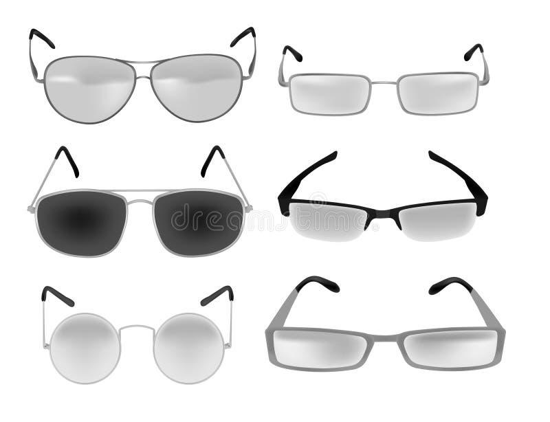 Ilustração dos Eyeglasses ilustração stock