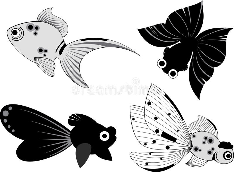 Ilustração dos peixes ilustração do vetor