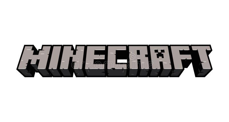 Ilustração editorial do vetor de Minecraft imagem de stock