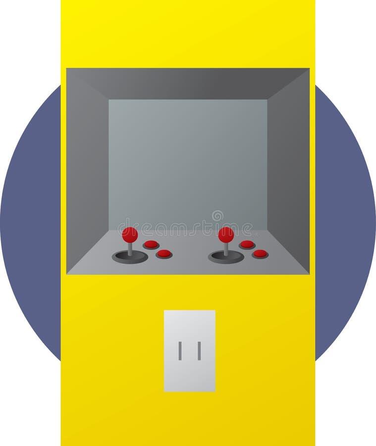 Ilustração A Fichas Do Videogame Da Arcada Fotos de Stock