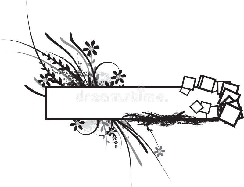 Ilustração floral ilustração do vetor
