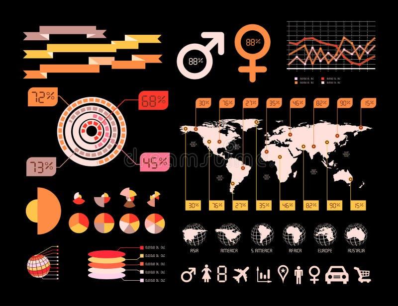 Download Ilustração Infographic Do Vetor Do Detalhe. Ilustração do Vetor - Ilustração de gráfico, tecla: 29833351