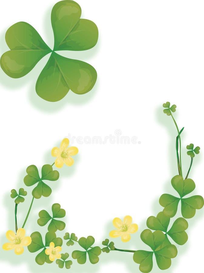 Ilustração irlandesa. ilustração stock