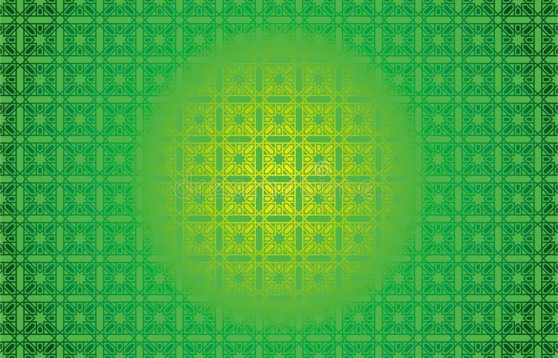 Ilustração islâmica de Baground do ornamento do projeto fotografia de stock