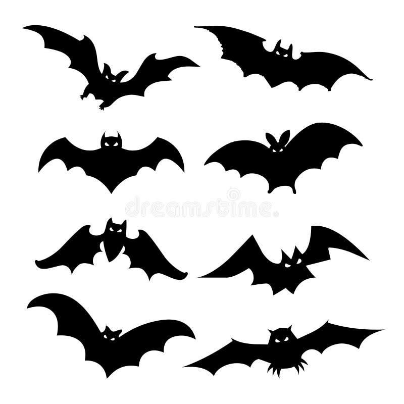 Ilustração lisa do vetor do elemento do projeto do ícone do preto da silhueta de Eagle Falcon Bird Hawk Animal ilustração do vetor