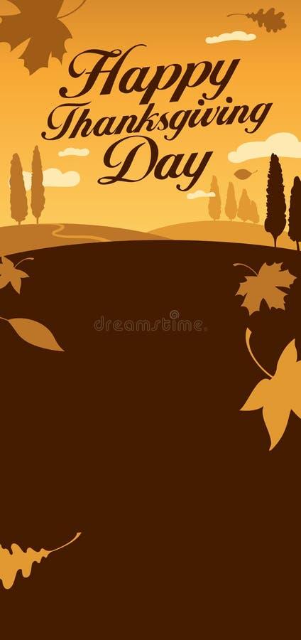Download Ilustração Para O Dia Da Acção De Graças. Ilustração do Vetor - Ilustração de feriado, paisagem: 26514907