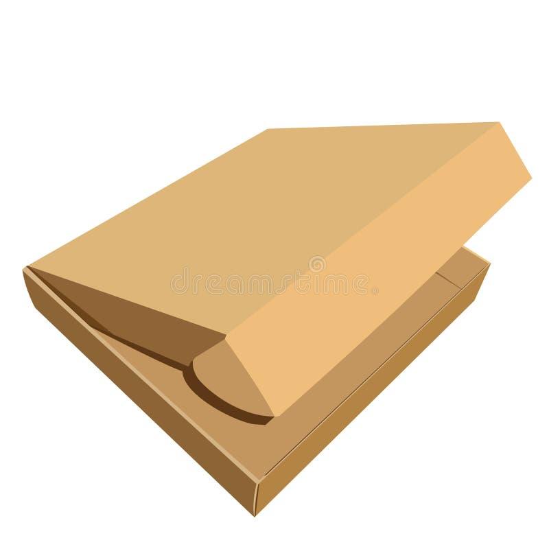Download Ilustração Realística Da Caixa Ilustração do Vetor - Ilustração de entrega, sacos: 12802808