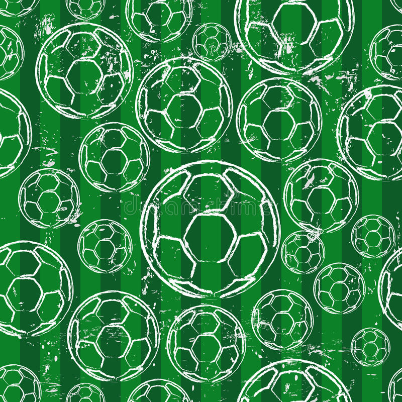 Download Futebol sem emenda ilustração do vetor. Ilustração de projeto - 29825998