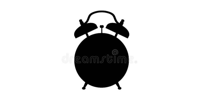 Ilustração simples do despertador ilustração do vetor