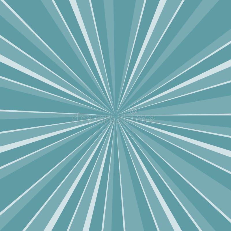 Ilustração Sunburst abstrata EPS10 do vetor do fundo - vetor ilustração do vetor