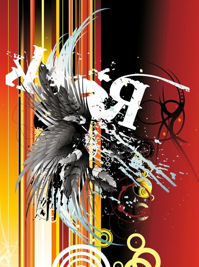 Ilustração urbana de Grunge ilustração do vetor
