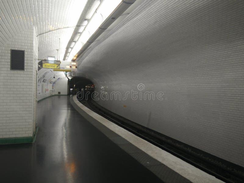 Ilustração vazia do metro foto de stock