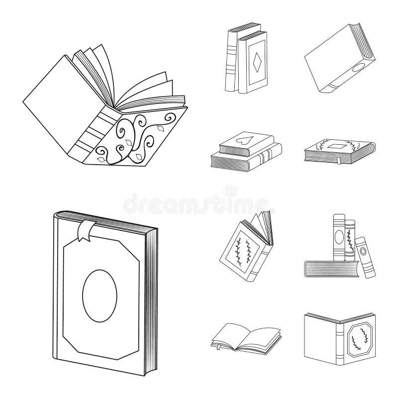 Ilustração vetorial do ícone de estudo e literatura Conjunto de estudos e ilustração do vetor de estoque de origem ilustração royalty free