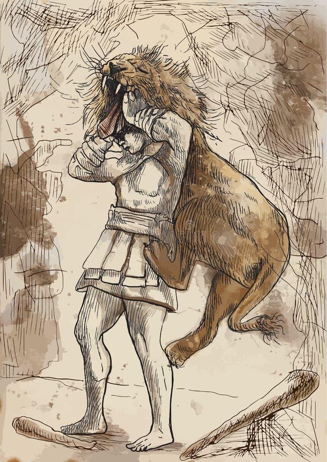 Hercules ilustração do vetor