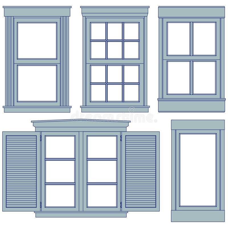 Ilustrações do modelo do indicador ilustração royalty free