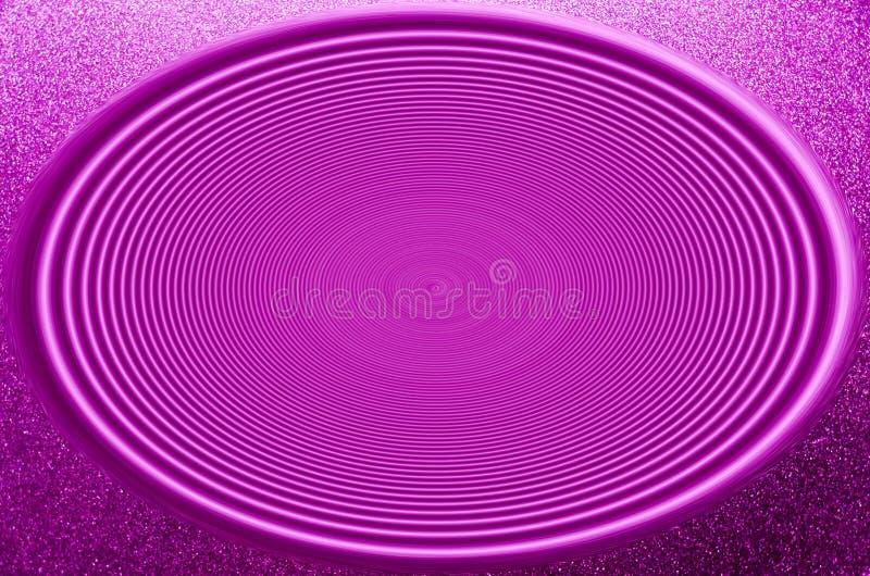 Ilustrações do roxo abstrato com ondas radiais fotos de stock royalty free