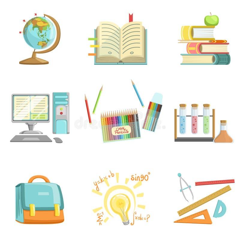 Ilustrações relacionadas da educação escolar e dos estudos ilustração stock