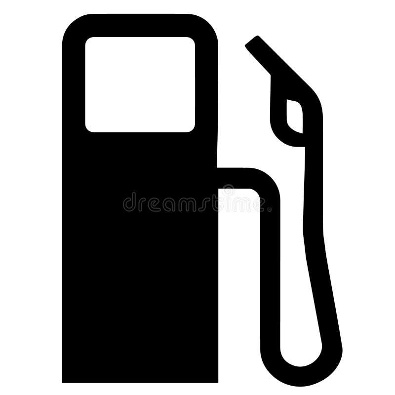 Ilustra??o do eps do vetor do g?s da gasolina por crafteroks ilustração royalty free