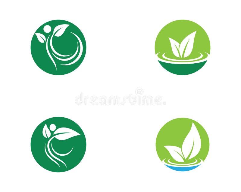 Ilustra??o do logotipo da ecologia ilustração do vetor