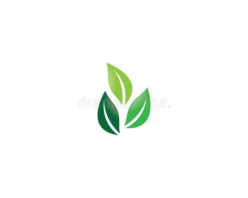 Ilustra??o do logotipo da ecologia ilustração stock