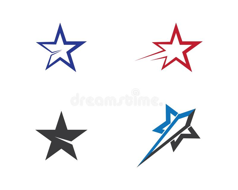 Ilustra??o do s?mbolo da estrela ilustração do vetor