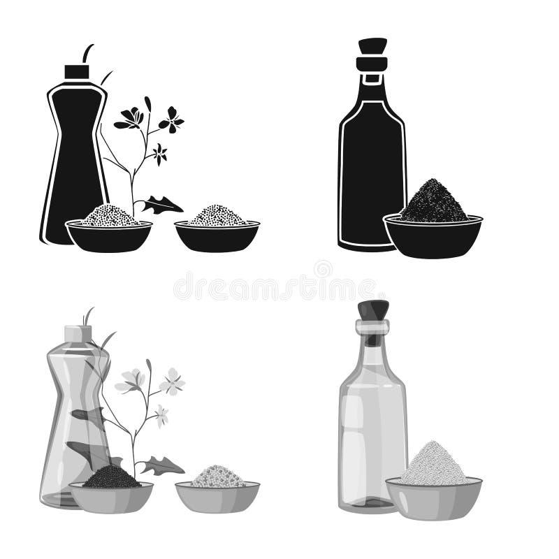 Ilustra??o do vetor do logotipo saud?vel e vegetal Cole??o da ilustra??o conservada em estoque saud?vel e da agricultura do vetor ilustração do vetor