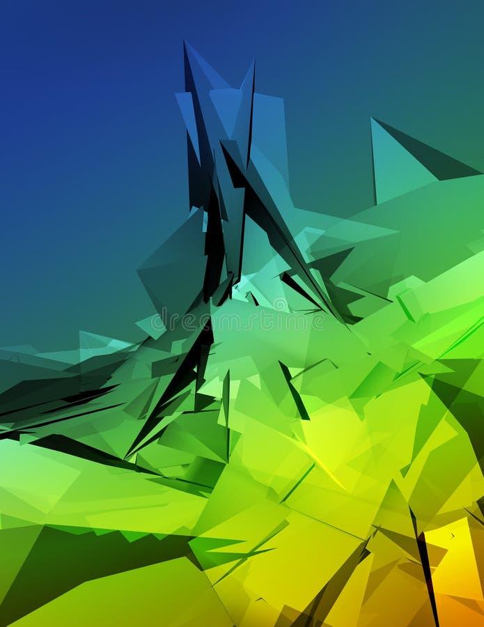 Ilustración 3D Imagen de archivo
