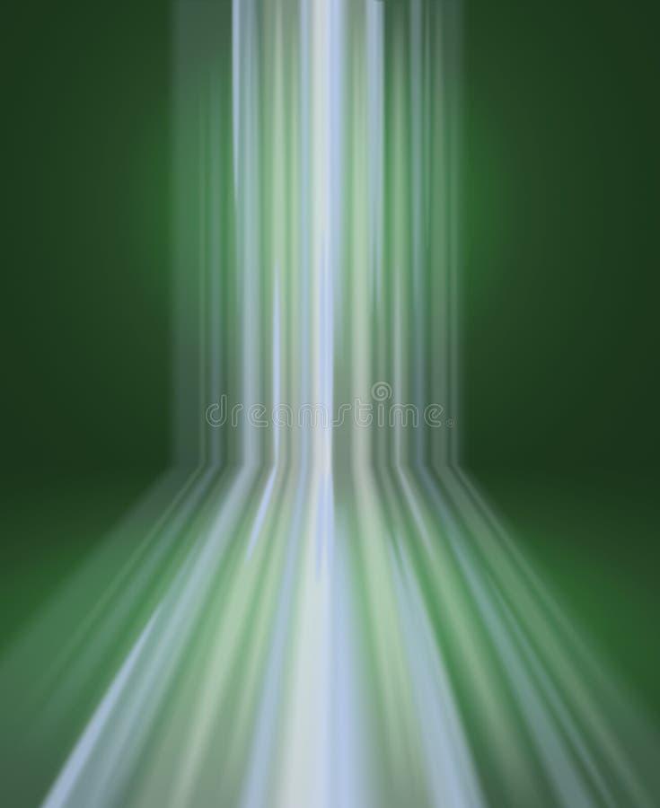 Ilustración abstracta de la cascada ilustración del vector