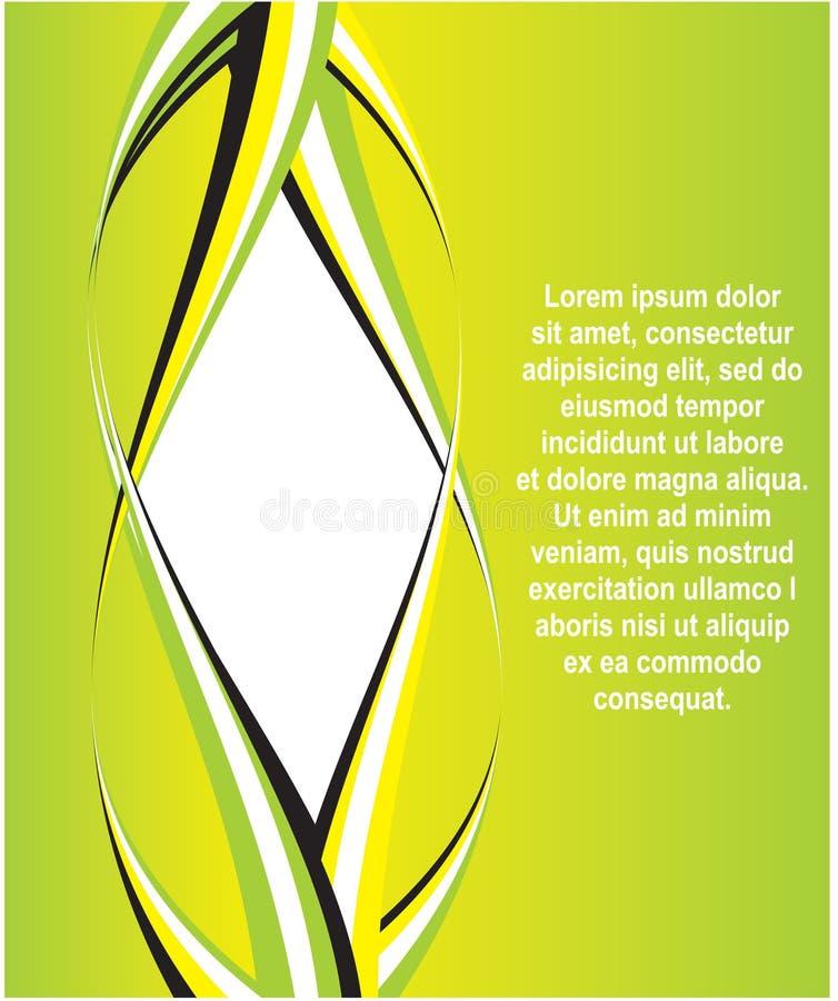 Ilustración abstracta del vector ilustración del vector