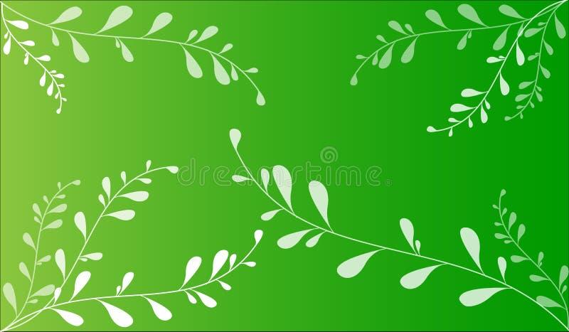 Ilustración abstracta del vector del resorte stock de ilustración
