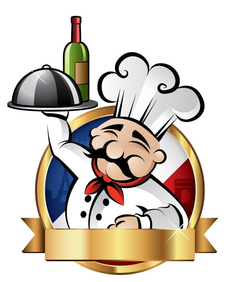 Ilustración alegre del cocinero libre illustration