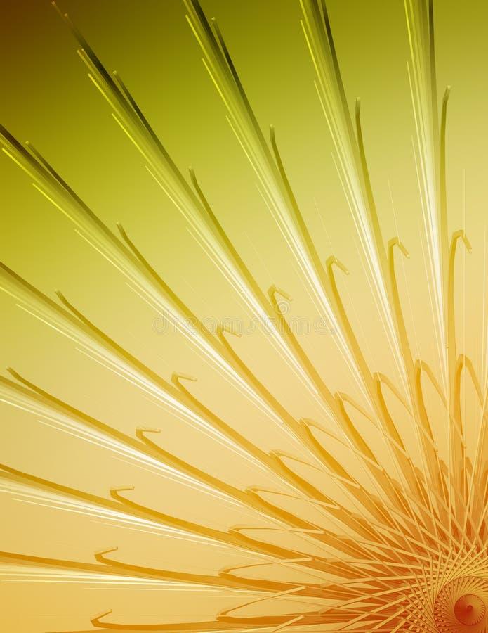 Ilustración Colorida Del Ordenador Imagen de archivo