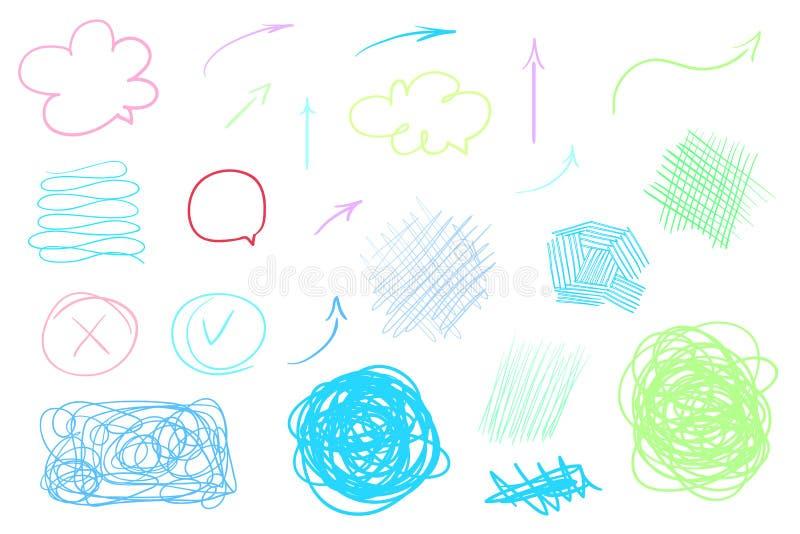 Ilustración Creación del arte libre illustration