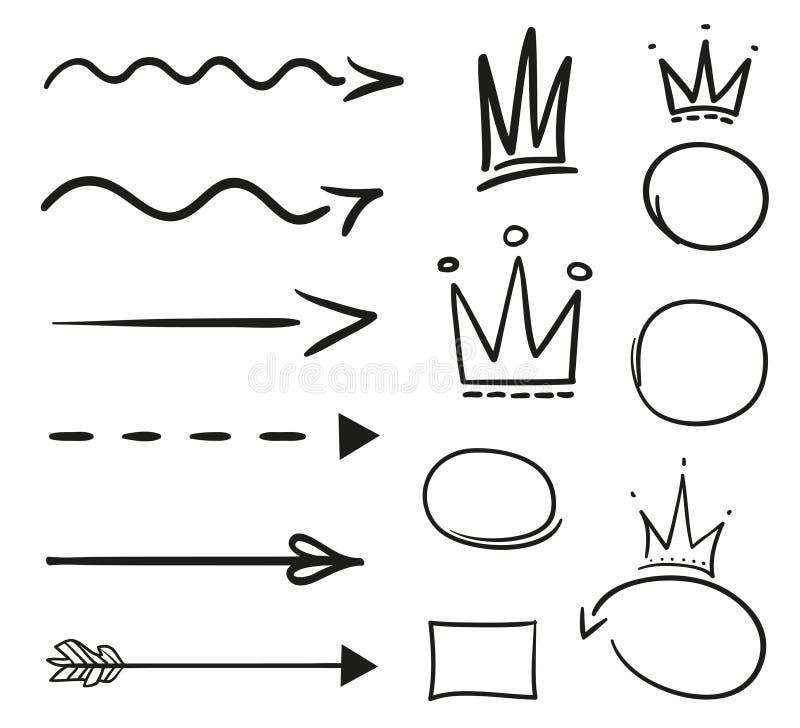 Ilustración Creación del arte ilustración del vector