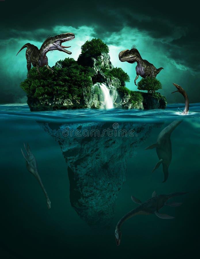 Ilustracion 3d De Dinosaurios Vagando Por Una Pequena Isla Flotando En El Mar Stock De Ilustracion Ilustracion De Ilustracion Isla 167811937 Todas las noticias sobre dinosaurios publicadas en el país. ilustracion 3d de dinosaurios vagando