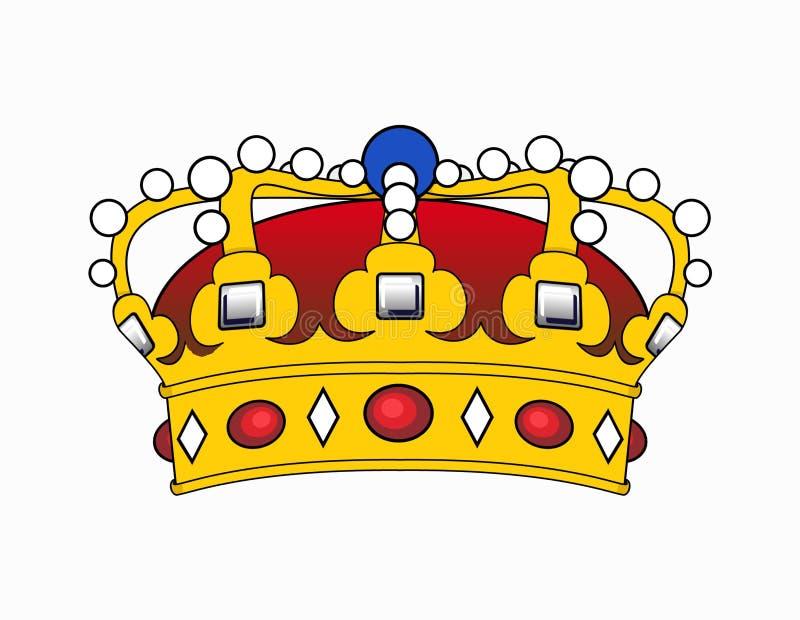 Ilustración de la corona stock de ilustración