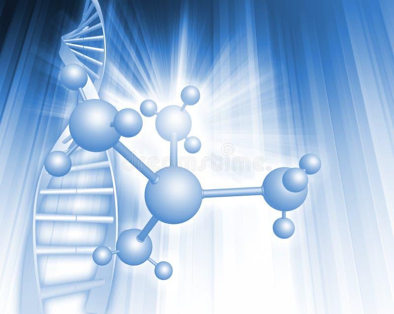 Ilustración de la DNA libre illustration