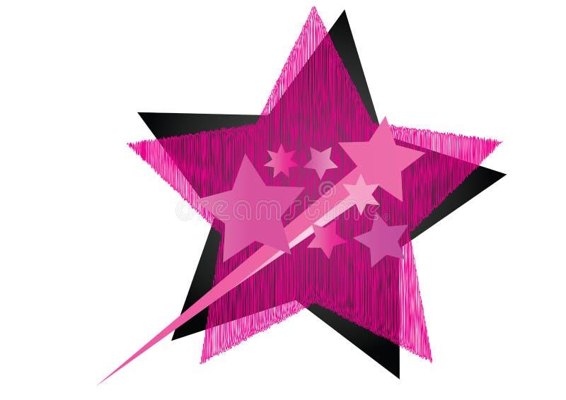 Ilustración de la estrella ilustración del vector