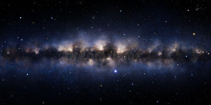 Ilustración de la galaxia stock de ilustración