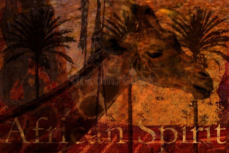 Ilustración de la jirafa fotos de archivo libres de regalías