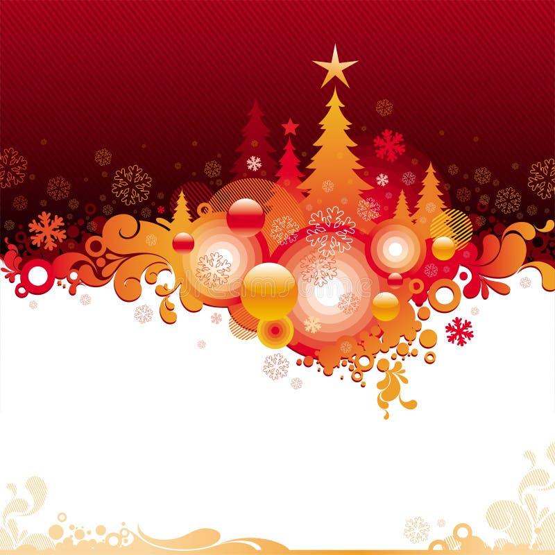 Ilustración de la Navidad stock de ilustración