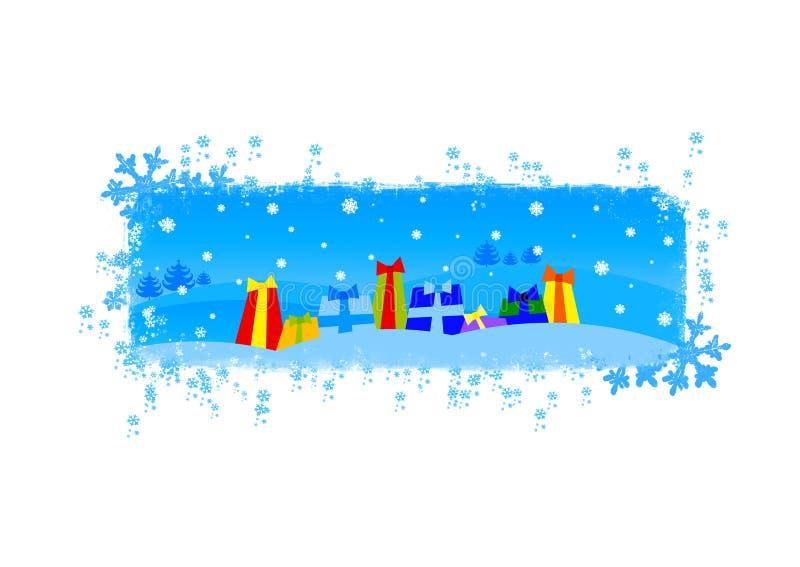 Ilustración de la Navidad/del Año Nuevo stock de ilustración
