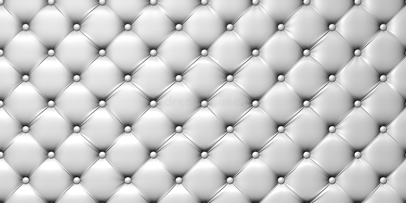 Ilustración de la tapicería del cuero blanco libre illustration