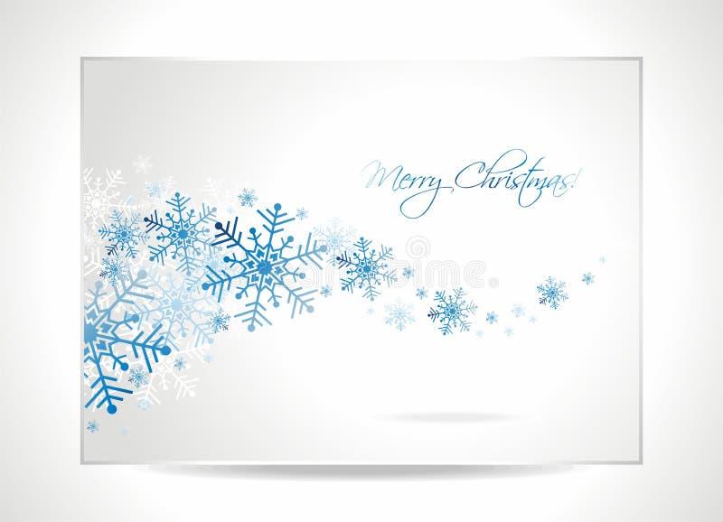 Ilustración de la tarjeta de felicitación de la Navidad del vector. libre illustration
